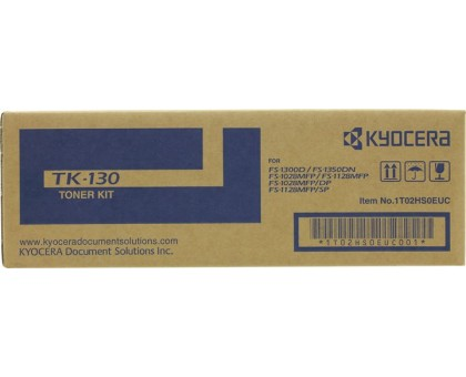 Тонер-картридж Kyocera TK-130 для FS-1300/FS-1350/FS-1028MFP (1T02HS0EU0)
