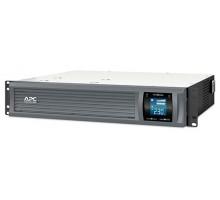 Источник бесперебойного питания APC Smart-UPS C 2000VA/1300W установка в стойку 2U, Line-Interactive, ЖК-дисплей, Gray, No CD/cables (SMC2000I-2URS)
