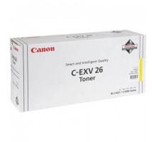 Тонер CANON С-EXV26 Y для iRC 1021i,  желтый/ yellow (1657B006)