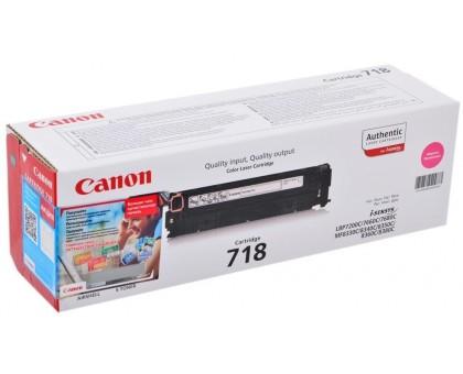 Картридж 718 пурпурный/magenta для Canon LBP7200Cdn, LBP7210Cdn, LBP7660Cdn, LBP7680Cx, MF8330Cdn, MF8340Cdn, MF8350Cdn, MF8360Cdn, MF8380Cdw (2660B002)