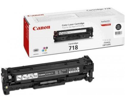 Картридж 718 черный для Canon LBP7200Cdn, LBP7210Cdn, LBP7660Cdn, LBP7680Cx, MF8330Cdn, MF8340Cdn, MF8350Cdn, MF8360Cdn, MF8380Cdw (2662B002)