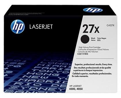 Картридж HP для LaserJet 4000/4000T/4000N/4000TN/4050 черный (C4127X)