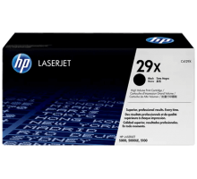 Картридж HP для LaserJet 5000/5100 черный, повышенной емкости (C4129X)