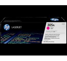 Картридж HP 305A для Color LaserJet Pro M351/M451/MFP M375/MFP M475, пурпурный/magenta (CE413A)