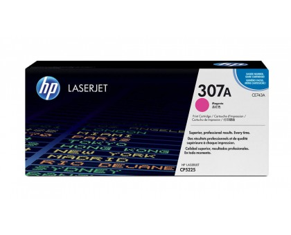 Картридж HP для LaserJet CP5225, пурпурный/ magenta (7300 копий) (CE743A)