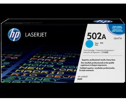 Картридж HP для принтера Color LJ 3600/3600n/3600dn голубой/cyan (Q6471A)