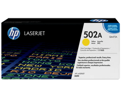 Картридж HP для принтера Color LJ 3600/3600n/3600dn желтый/yellow (Q6472A)