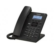 SIP-телефон Panasonic с проводной трубкой и высококачественной передачей голоса, ЖКД, 2 порта Ethernet (10/100), поддержка кодеков G.722 / G.711 / G.726 (32 k) / G.729A (KX-HDV130RUB)