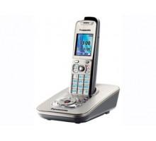 Беспроводной телефон Panasonic DECT с автоответчиком KX-TG8421RUT, темно-серый металлик